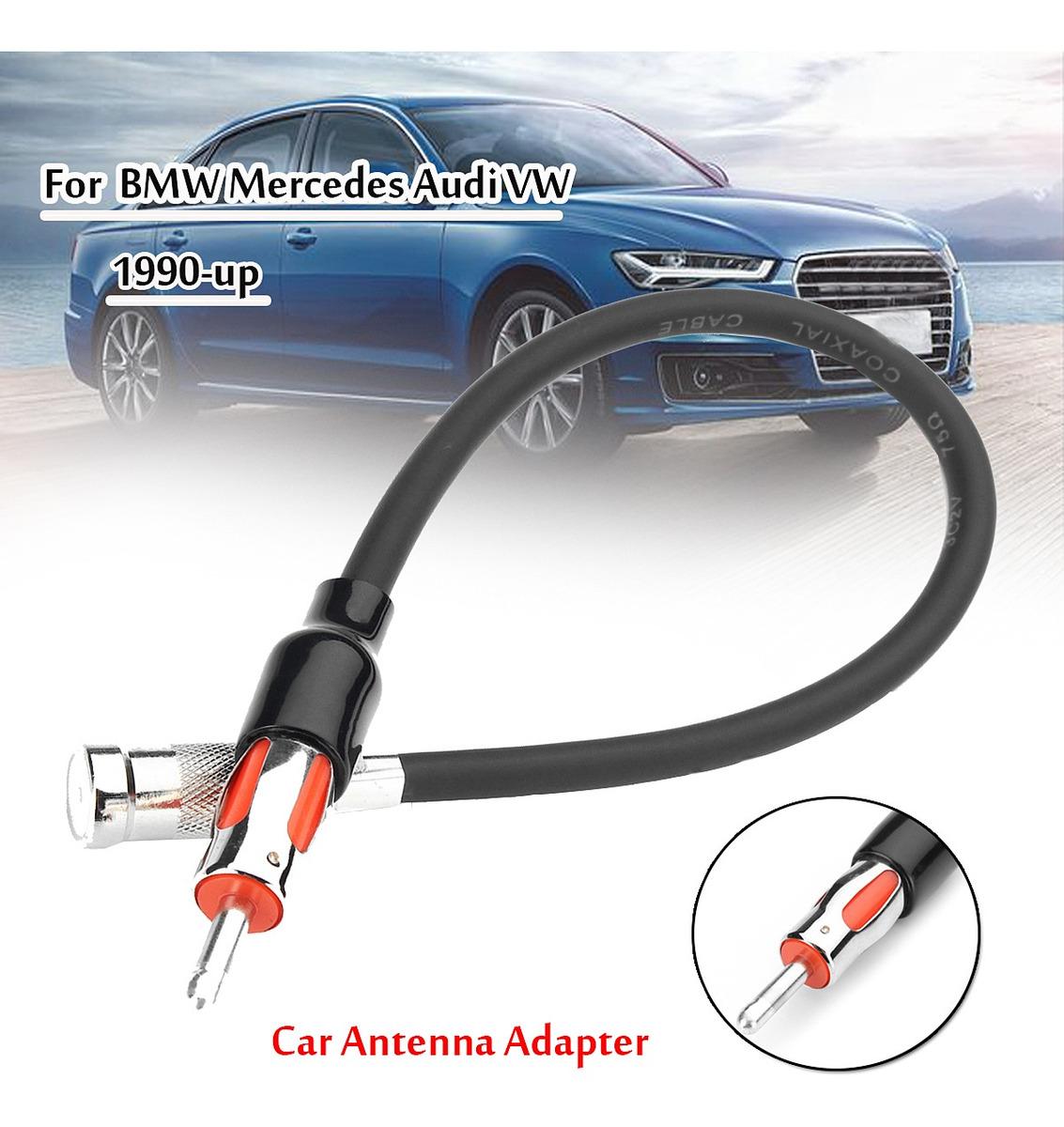 conector antena adaptador radio coche Mercedes