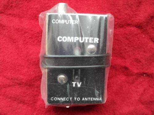 adaptador de antena para atari,nintendo,intelevision, sega