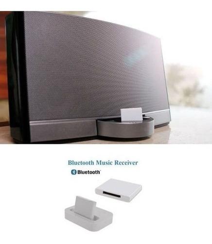 adaptador de áudio bluetooth, 30 pinos, lightning bose jbl