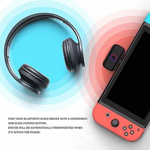 adaptador de audio bluetooth gamesir r3 de baja latencia, qu