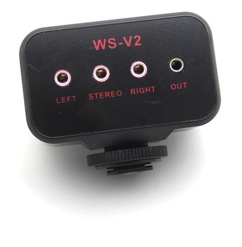 adaptador de audio de canales ideal para ggrabar videos