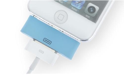 adaptador de audio para iphone 5/ 5s conector 8 pin a 30 pin