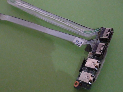 adaptador de audio y usb hp-compaq 8510