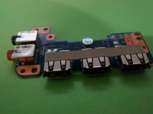 adaptador de audio y usb, sony-vaio pcg-61611l