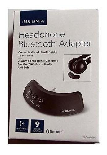 adaptador de auriculares bluetooth insignias streaming media