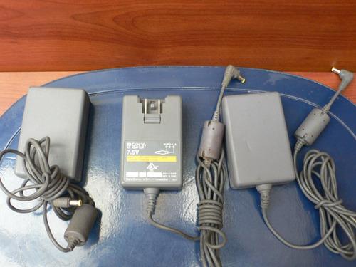 adaptador de corriente 7.5v/originales/play one/ps1