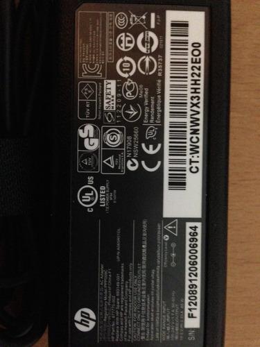 adaptador de corriente ac hp pavillion ultrabook 19.5v 3.33a