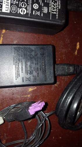 adaptador de corriente impresoras hp con cables ac