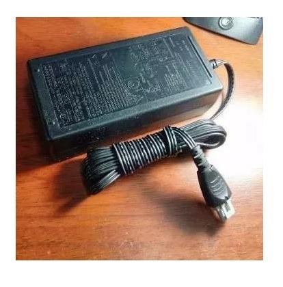 adaptador de corriente para impresoras hp punta gris