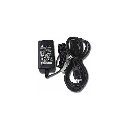 adaptador de corriente polycom para vvx 500 600 48v x 5 unid