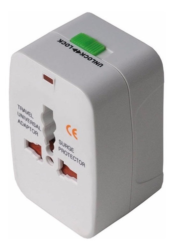 adaptador de corriente universal para viaje us/ uk / eu / au