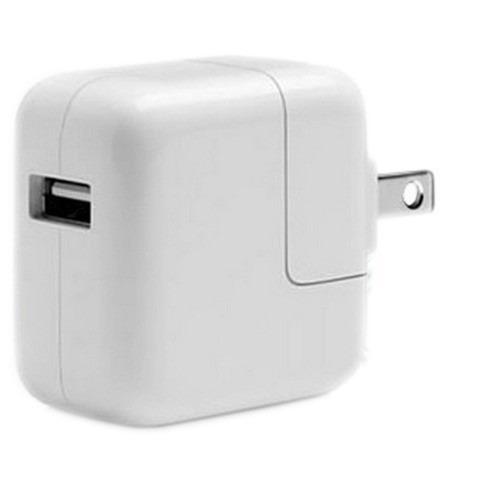 adaptador de corriente usb de 10w apple generico para ipad