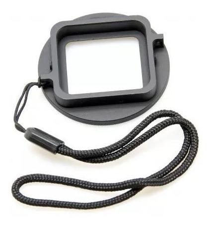 adaptador de filtro 52 mm para gopro hero3 / hero4