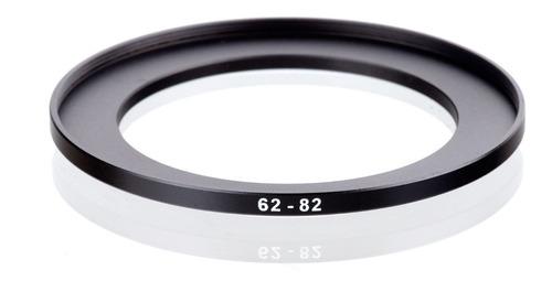 adaptador de filtro rosca macho (62mm x 82mm) rosca fêmea