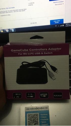 adaptador de gamecube para switch, wii u pc (30) | bumsgames