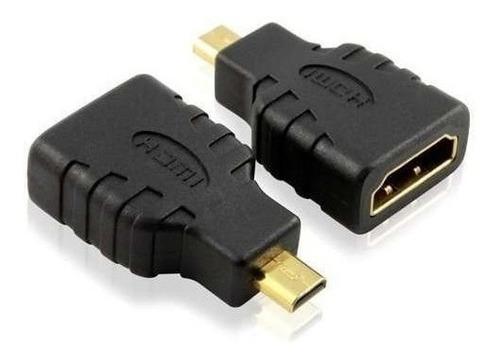 adaptador de hdmi (hembra) a micro hdmi  convierte cable hd