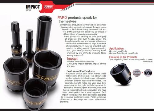 adaptador de impacto 1/2(f)x3/8(m) com furo pard c80943mpp