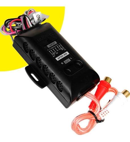 adaptador de impedancia alta-baja 2ch audio pipe usa
