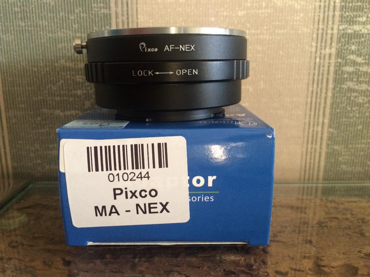 Adaptador De Lente A-mount Para Camera E-mount Sony - R  230,00 em ... ac3ee1e5a3