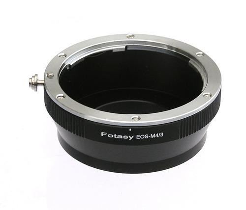 adaptador de lente ef micro a micro 4/3, se adapta a ol...