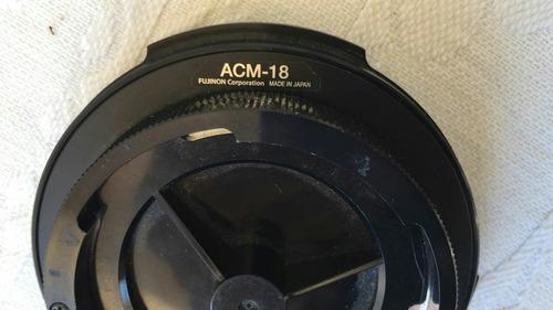 adaptador de lente sony ex3 - fujinon acm 18 para lente 1/2