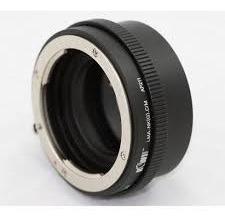 adaptador de lentes nikon g para cameras canon ef-m, lma-nkg