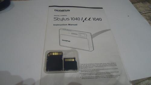 adaptador de memoria micro sd ridata  camara olympus