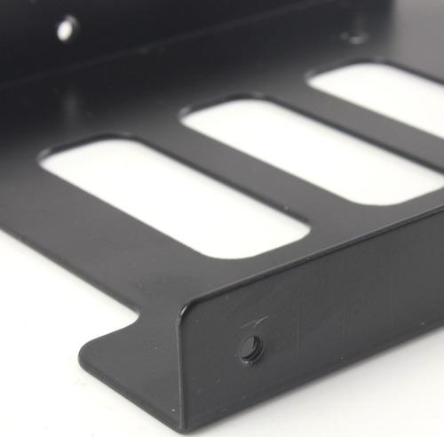 adaptador de metal disco sólido hdd 2.5 a 3.5 + envío gratis