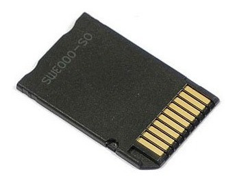 adaptador de microsdhc para memorystick pro duo