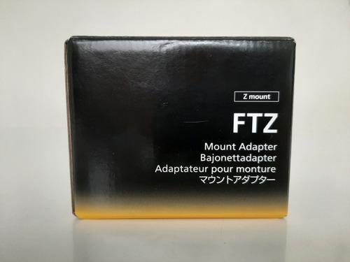 adaptador de montagem ftz para uso em cameras nikon