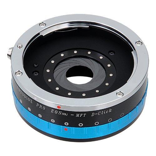 adaptador de montaje de objetivo fotodiox pro - objetivo eos