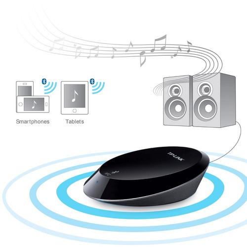 adaptador de música bluetooth tp-link ha100 con nfc