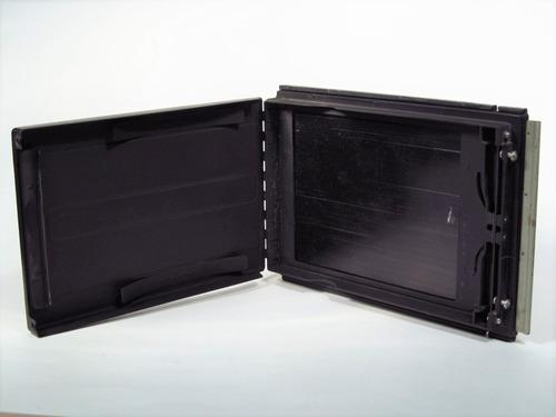 adaptador de paquete de película 4x5 graflex