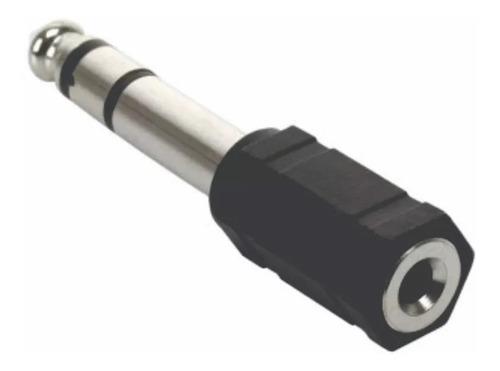 adaptador de plug 6,3mm(m) a plug 3,5mm(h) -ditron