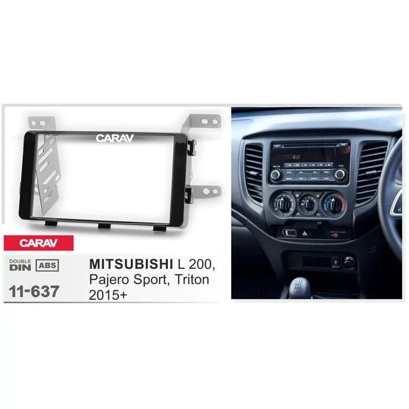 8665b270b adaptador de radio mitsubishi montero l200 2015+oferta hoy! ...