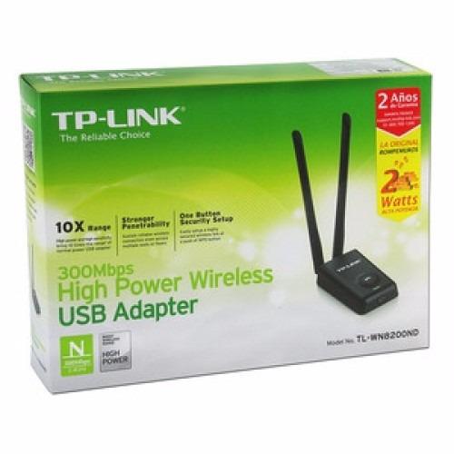 adaptador de red inalambrica tp-link usb n300 tl-wn8200nd