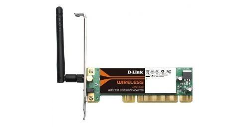 adaptador de redes inalámbrico d-link mod. dwa-510