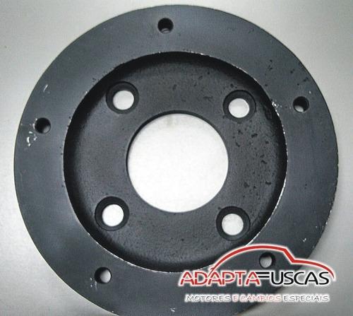 adaptador de roda para fusca moderno 4x130 p/ 5x205 antigo