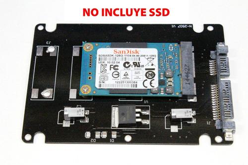 adaptador de ssd msata a sata 2.5  con case