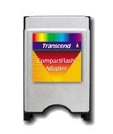 adaptador de tarjetas compact flash  ( cf ) a  pcmcia