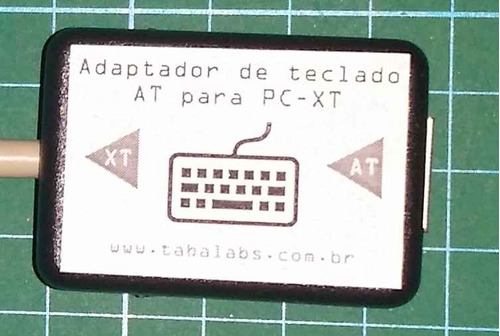 adaptador de teclado pc-at para pc-xt