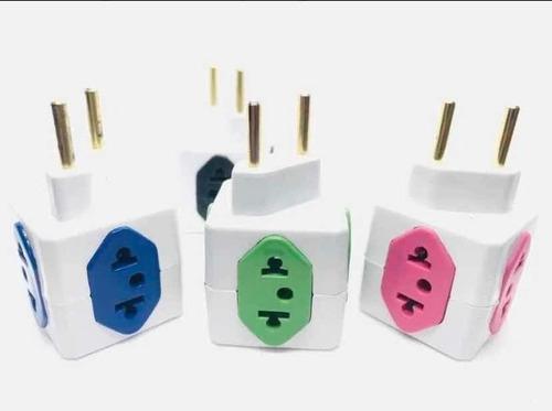 adaptador de tomada benjamin kit 4 peças