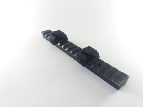 adaptador de trilho 22mm para 11mm luneta red dot scope