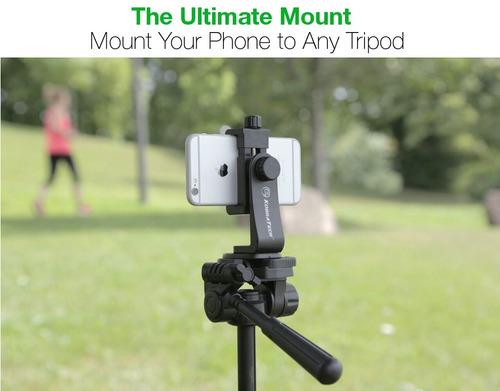 adaptador de trípode para teléfono celular kobratech - unimo