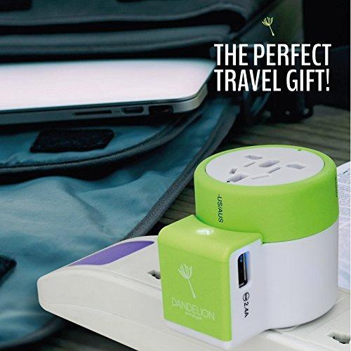 adaptador de viaje accesorio de viaje all in one outlet con