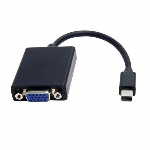 adaptador de video mini display port a vga hembra argom