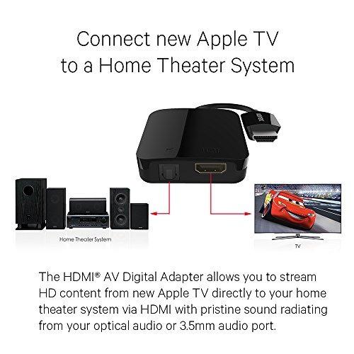adaptador digital kanex compatible con apple tv (4ª generac