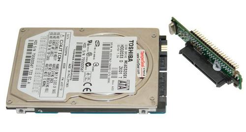 adaptador discos duros sata de 2.5 a ide de 2.5 para laptops