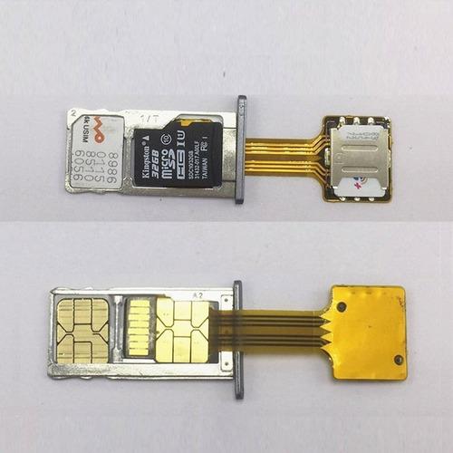 adaptador dual chip chip