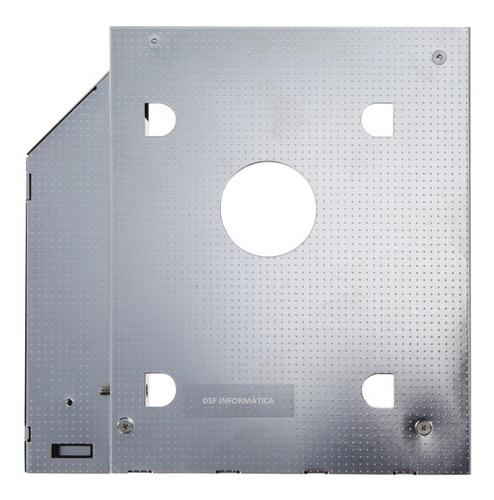 adaptador dvd p/ hd ou ssd notebook drive caddy 12.7mm sata
